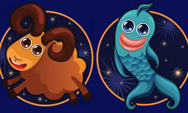 Совместимость Овна и Рыб по гороскопу