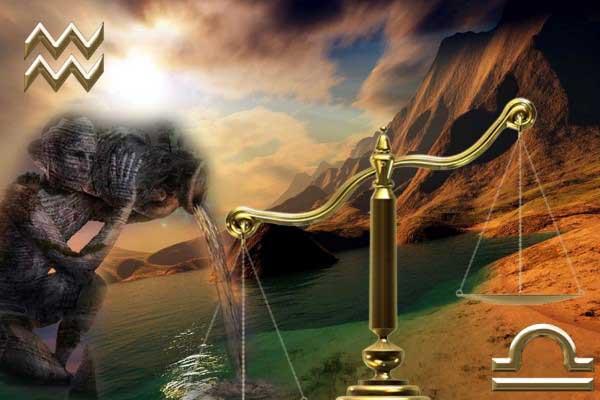 Совместимы ли Водолей с Весами
