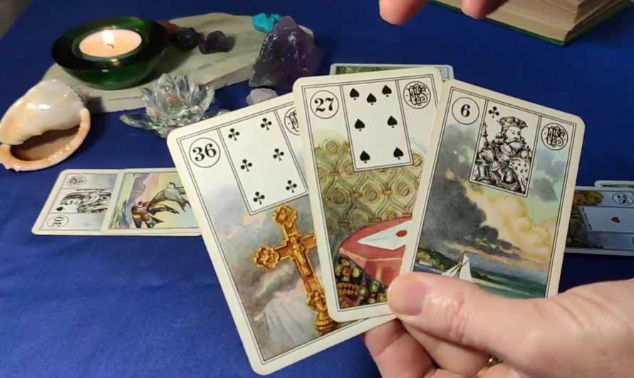 Гадание на 4 картах – Есть ли у него любовница
