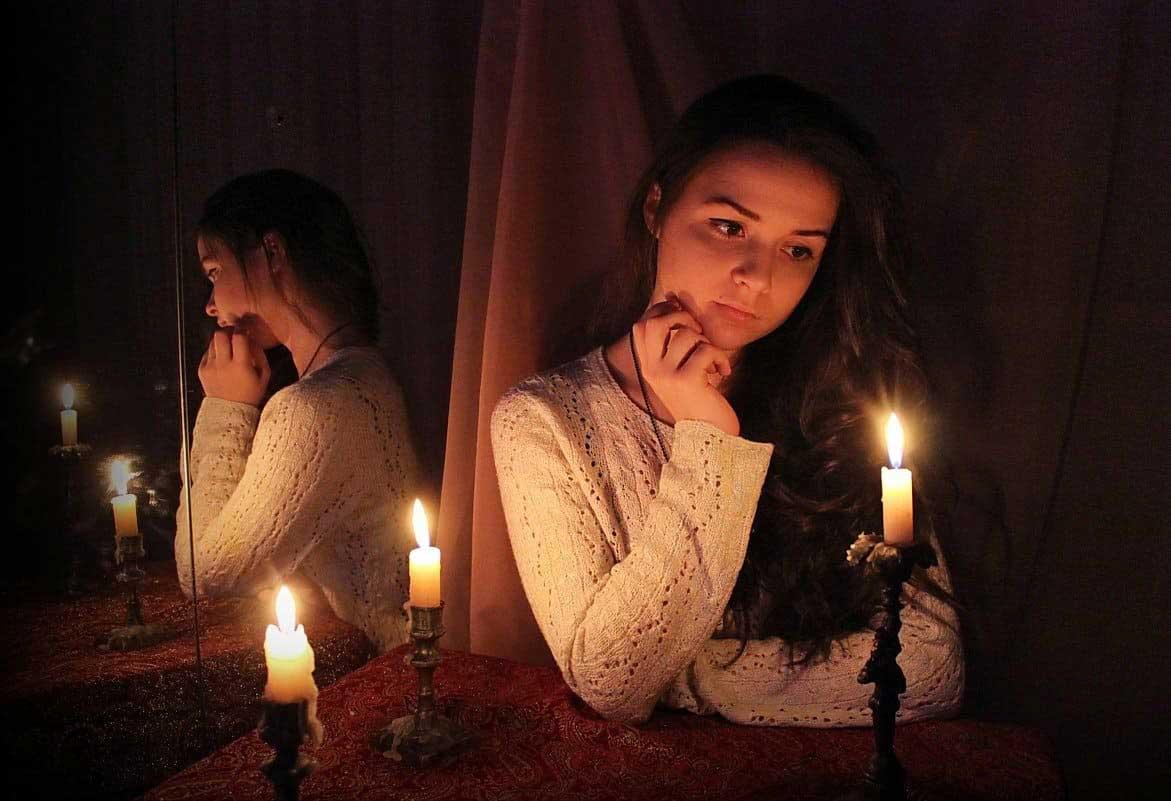 Онлайн гадание на зеркале на любовь