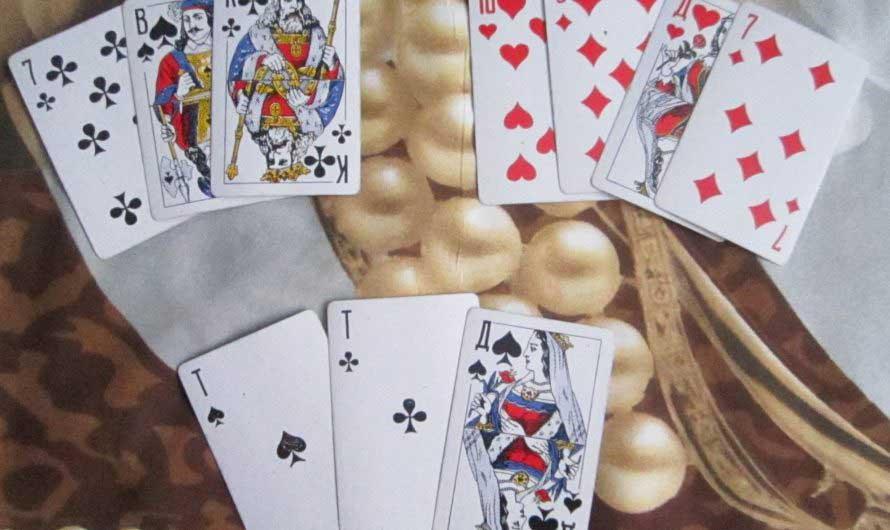 Онлайн предсказание будущего по 3 игральным картам