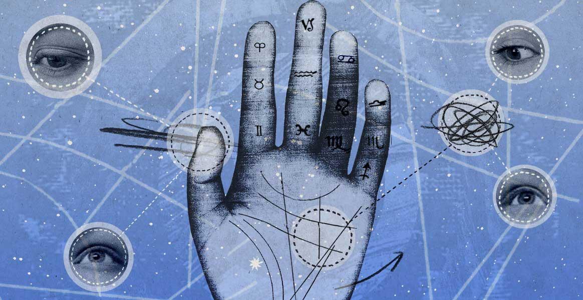 Хиромантия - Узнайте совместимость с партнером по отпечатку пальцев